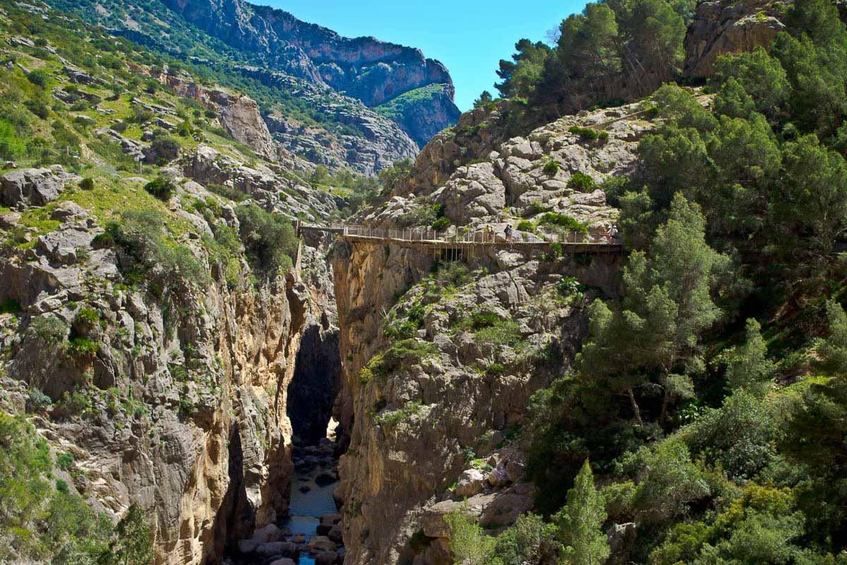 Desfiladero De Los Gaitanes, Caminito Del Rey (Málaga)