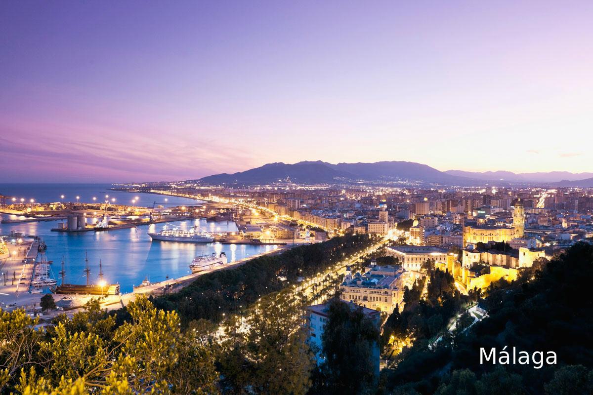Málaga, Andalusië