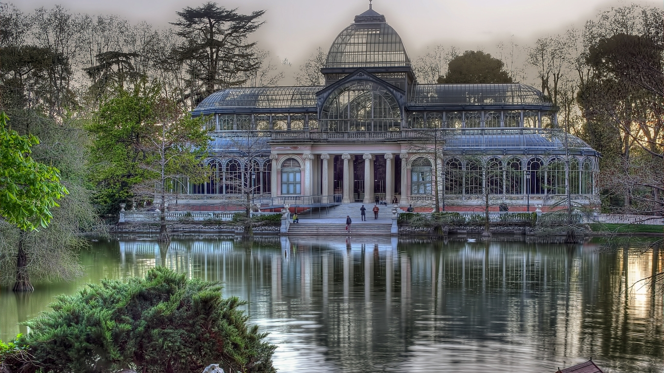 Palacio De Cristal, Parque De Retiro (Madrid)