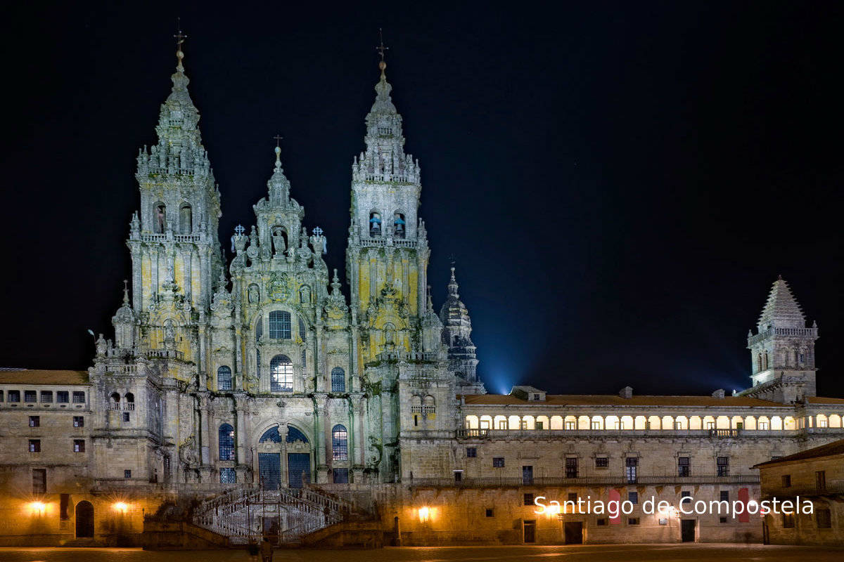Santiago De Compostela, Galicië