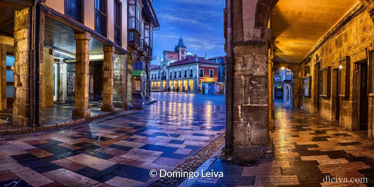 Avilés, Asturië – Foto Domingo Leiva