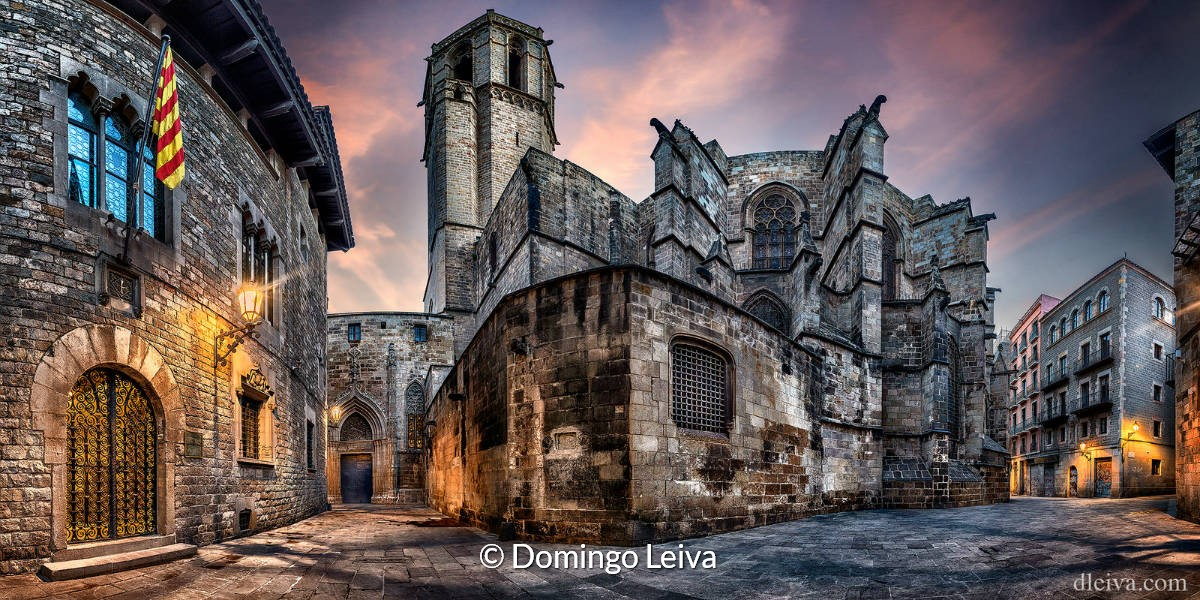 Catedral De Barcelona (Barcelona) – Foto Domingo Leiva