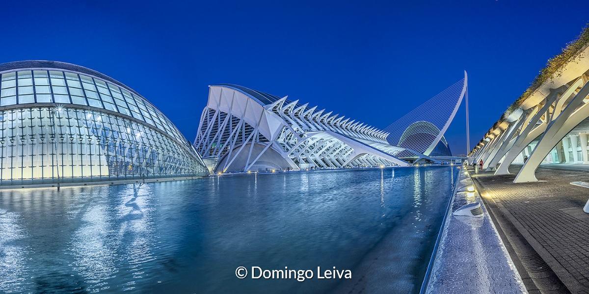 Ciudad De Las Artes Y La Ciencias (Valencia) – Foto Domingo Leiva