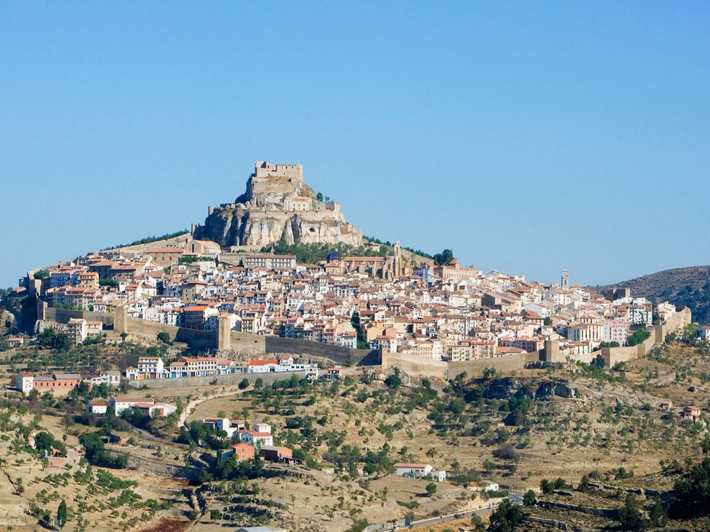 Dorpen Op Heuvels – Morella (Castellón)