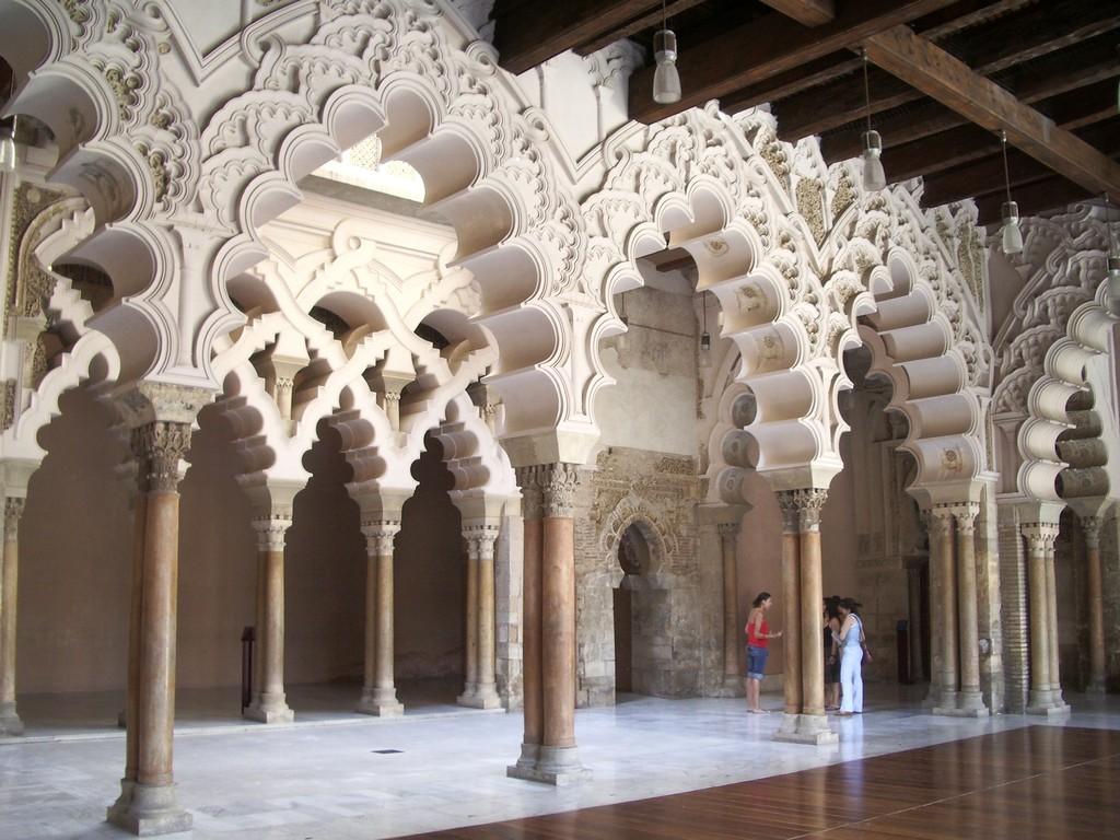 Palacio Aljaferia (Mudejár Stijl), Zaragoza