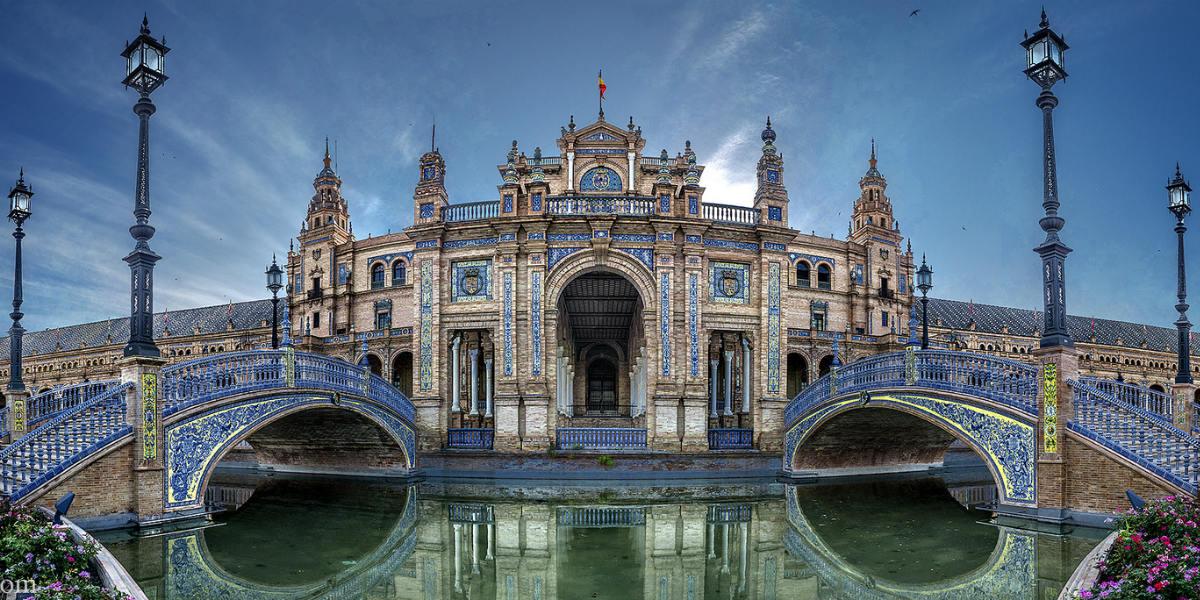 Plaza De España (Sevilla) – Foto Domingo Leiva