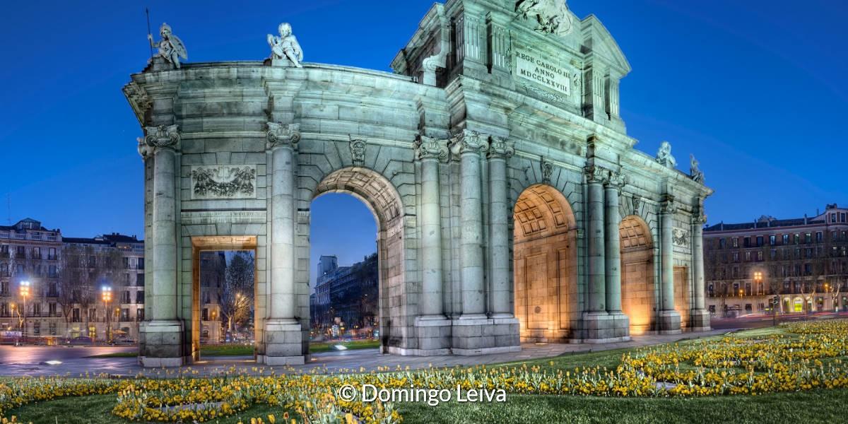 Puerta De Alcala (Madrid) – Foto Domingo Leiva