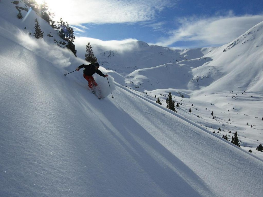 Skiën In Boi Taull (Lleida, Catalonië)