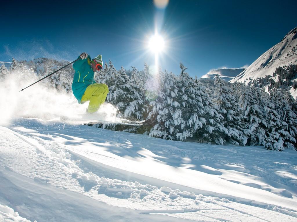 Skiën In Cerler (Huesca, Aragón)