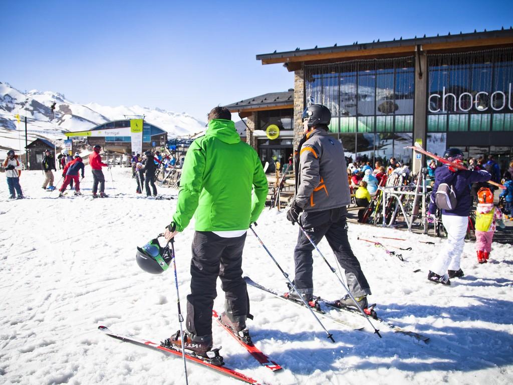 Skiën In Formigal (Huesca, Aragón)