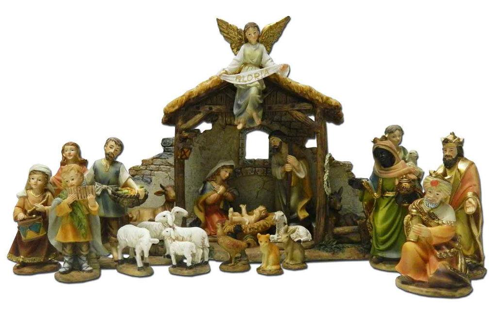De Traditie Van De Kerststal Of Belén In Spanje