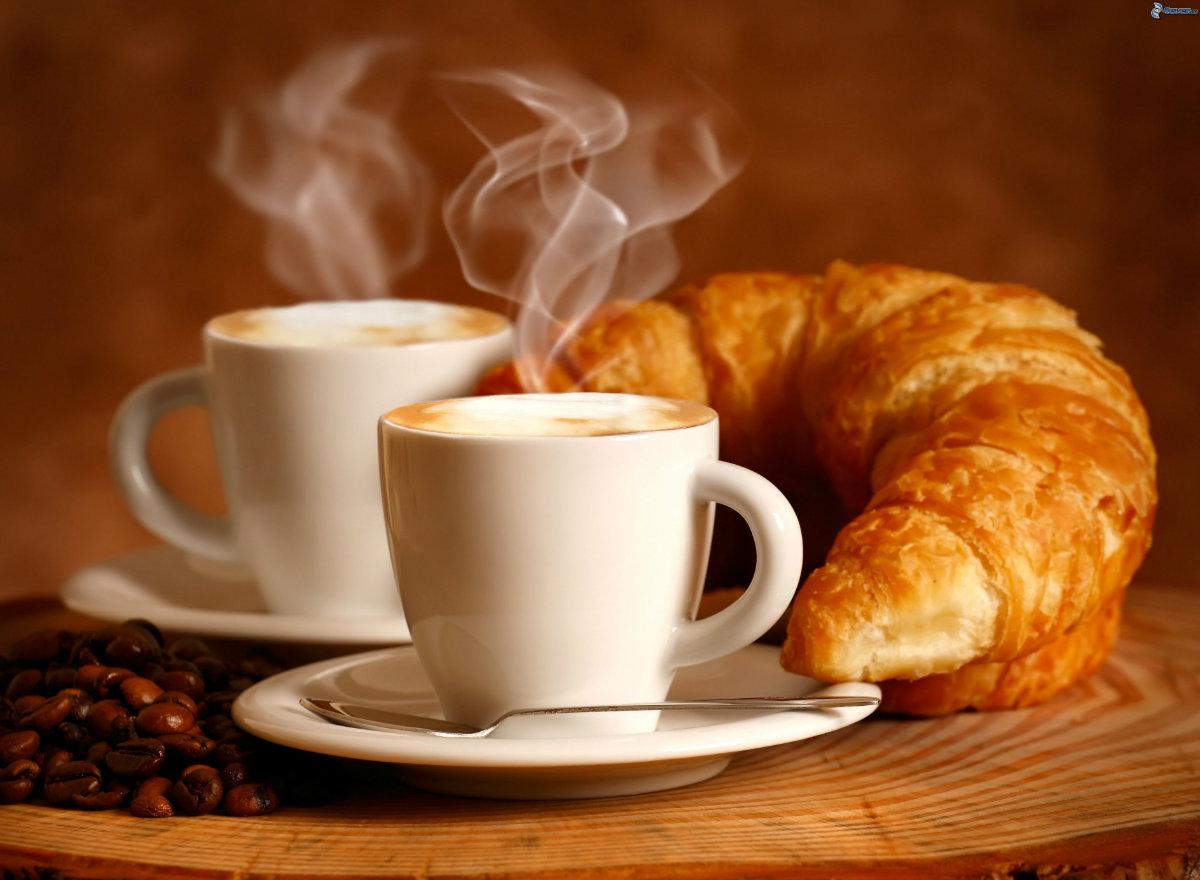 Spanje's Meest Geliefde Ontbijt, De Croissant En Cafe Con Leche