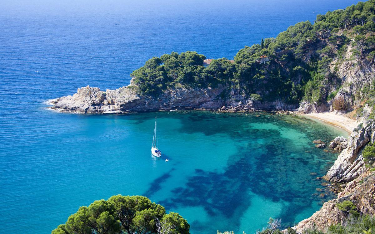 Cala De Sa Futadera (Tossa De Mar, Girona)